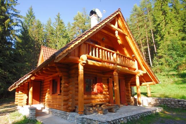 Ubytovanie Liptov - chata Liptov, ubytovanie v zrubovej celodrevenej chate - drevenici Liptovskom Jáne