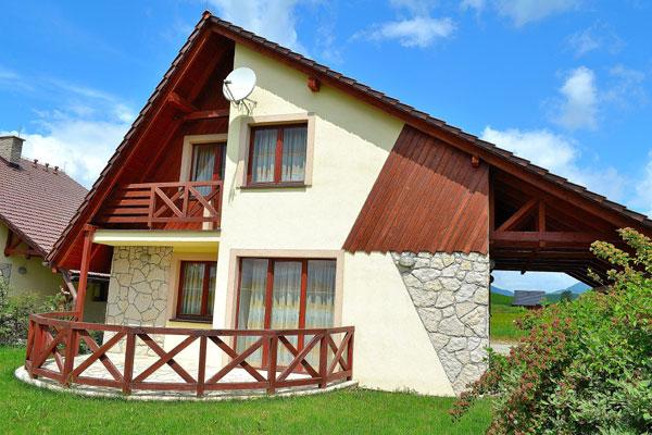 Ubytovanie Liptov - chata apartmán Liptov, ubytovanie v Liptovskom Trnovci v blízksoti aquaparku Tatralandia a priehrady Liptovská Mara